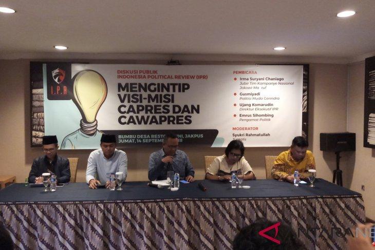 Koalisi Prabowo-Sandiaga susun visi-misi berdasarkan masukan masyarakat