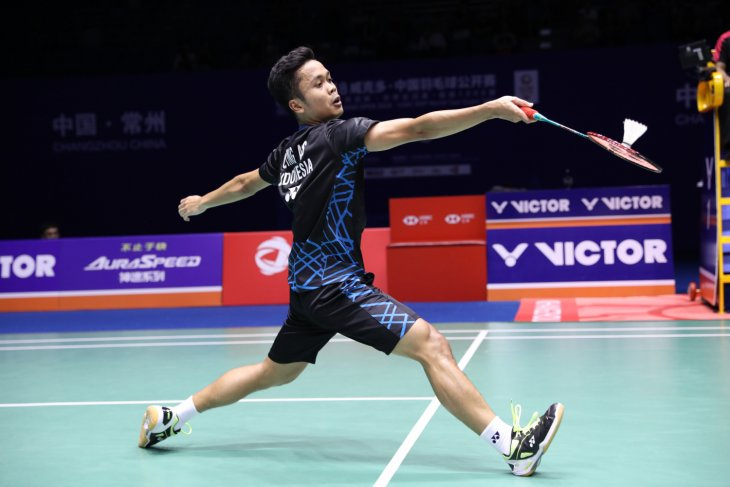 Anthony Ginting bidik gelar juara di China