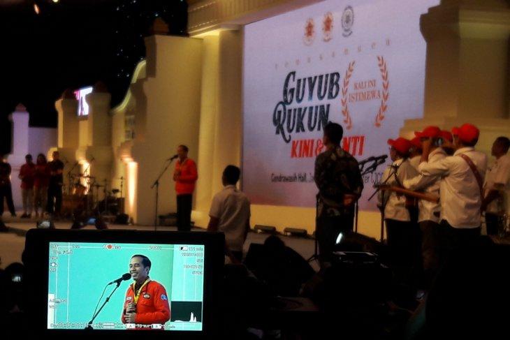 Presiden hadiri reuni akbar Kagama