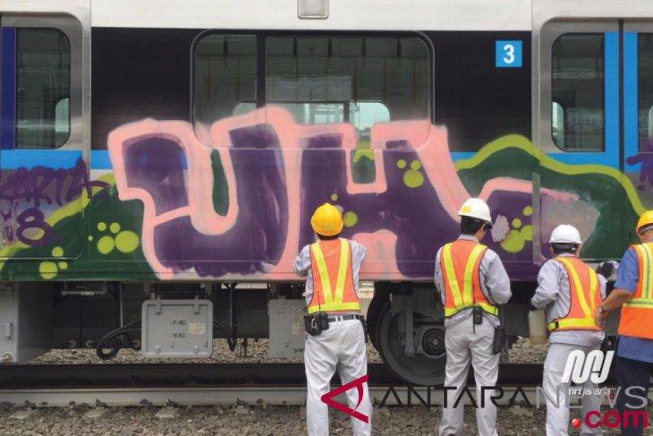 Polisi selidiki vandalisme kereta Bandara Soetta