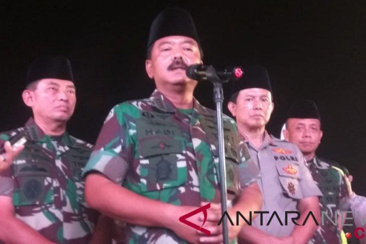 Panglima TNI sebut warga Palu diangkut kapal Pelni