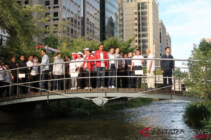 Presiden mimpi Ciliwung sebersih Sungai Cheongyecheon Seoul