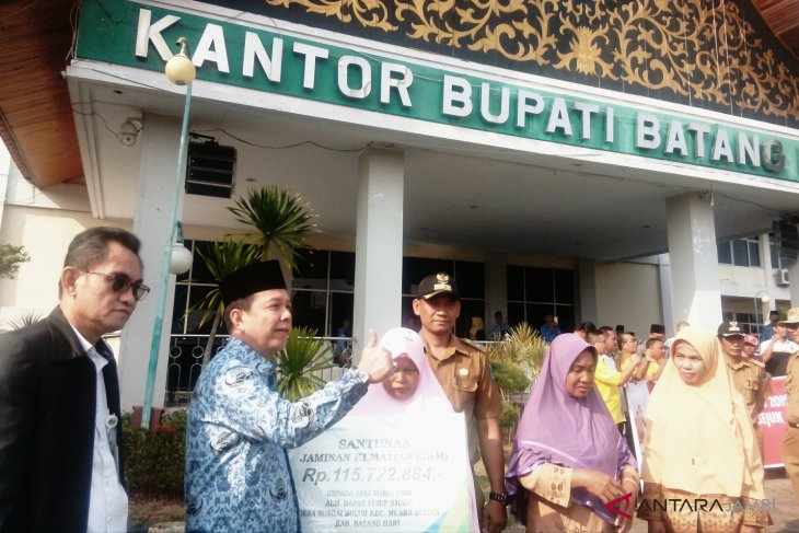 Meninggal usai imami solat, pegawai syara di Batanghari peroleh santunan BPJS Ketenagakerjaan