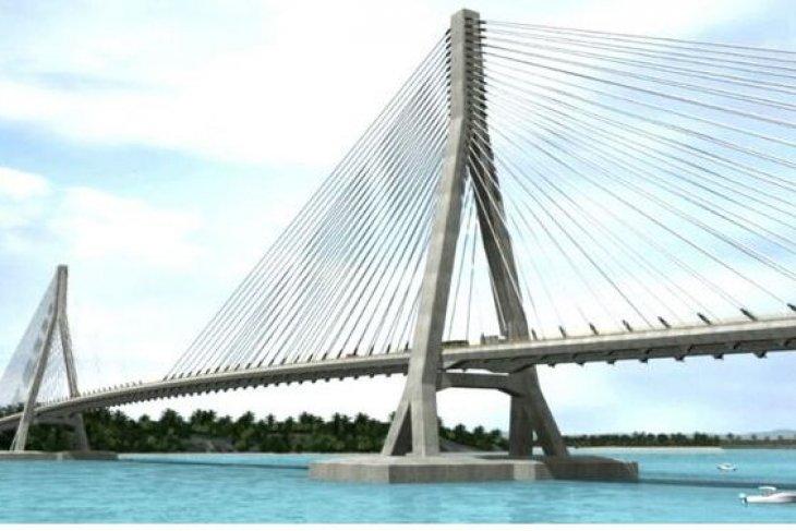 Pembangunan Jembatan Penajam-Balikpapan masuki Pengadaan Lahan