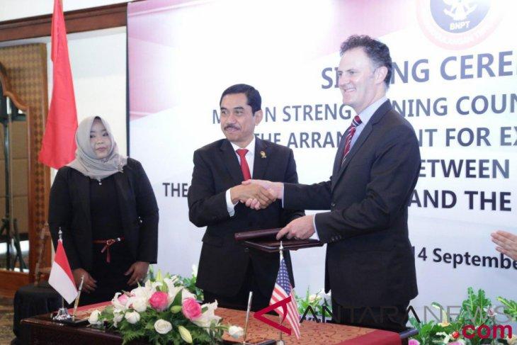 Indonesia dan AS perkuat kerja sama penanggulangan terorisme