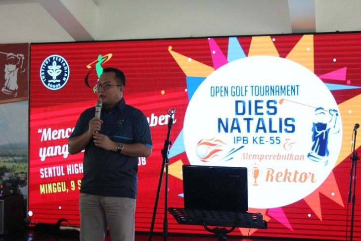 Open Golf Tournament Dies Natalis IPB ke-55