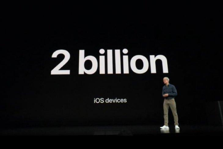 Apple bakal capai pengiriman 2 miliar perangkat iOS