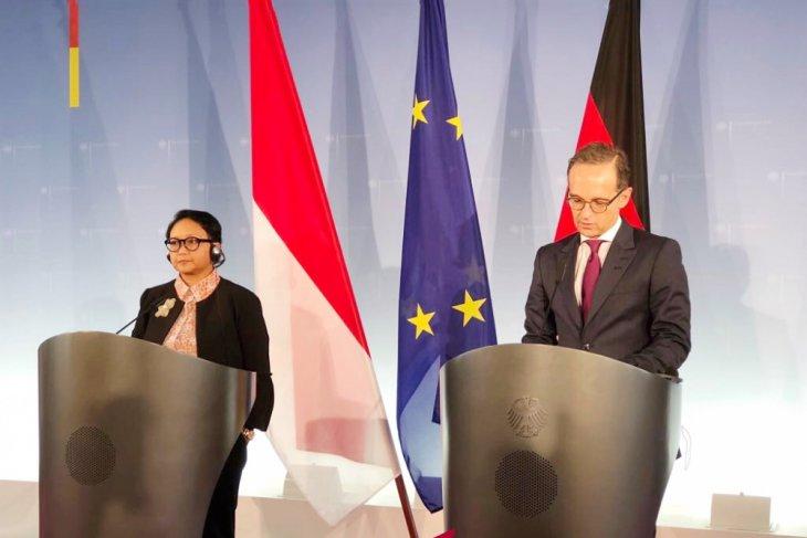Menlu RI kunjungi Jerman bahas penguatan kemitraan ekonomi