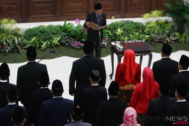 40 anggota baru DPRD Malang diingatkan jangan korupsi