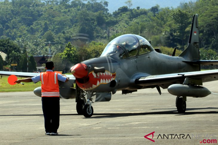 antarafoto persiapan patroli udara 120918 izm 2 - Persiapan Patroli Udara