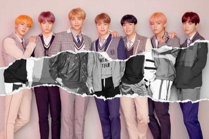 BTS jadi sampul majalah TIME