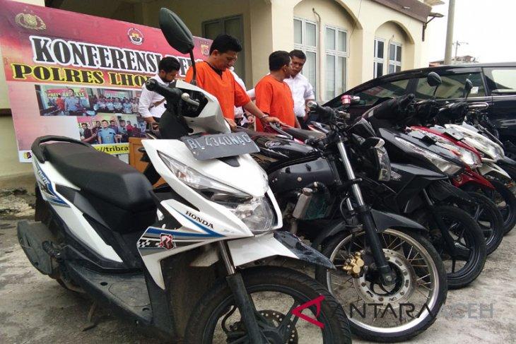 Waspadai modus pencurian motor mengaku polisi