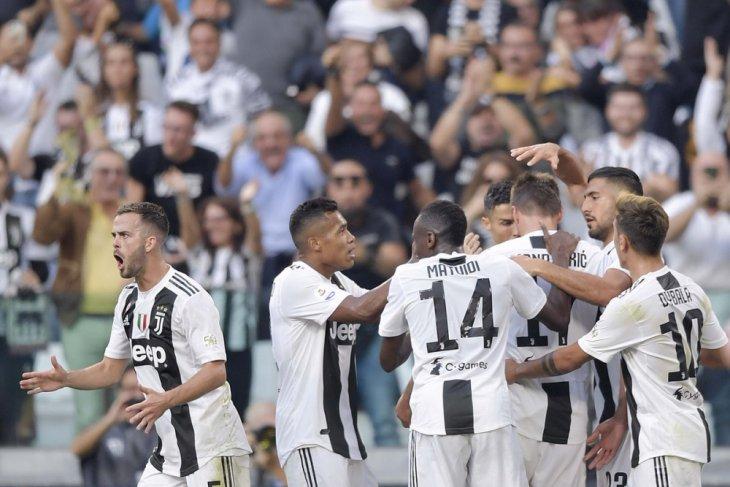 Raih kemenangan 3-1, Juventus menjauhi kejaran Napoli