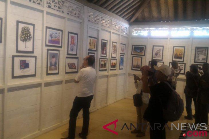 """Kartun dunia dipamerkan pada """"Borobudur Cartoonists Forum"""""""