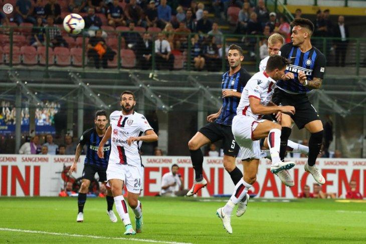 Inter pukul Cagliari dengan skor 2-0