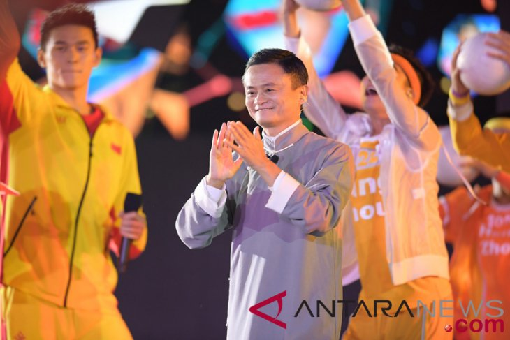 Asian Games - Jack Ma introduces Hangzhou in 2018 Asian Games closing ceremony