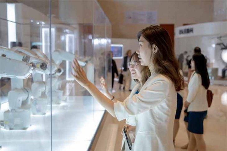 Gannon dan NVidia simulasikan robot baru di Forum Ekonomi Dunia