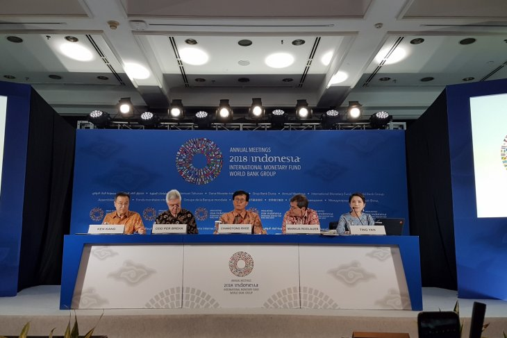 IMF prediksi pertumbuhan ekonomi Asia 5,4 persen 2019