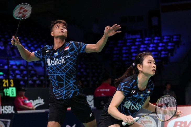 Ricky-Debby pair defeats China`s Zhang, Li at the Badminton Denmark Open