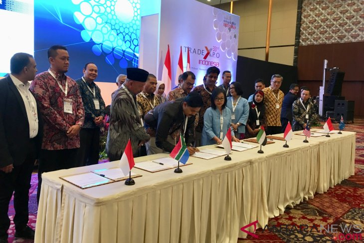 Transaction of 2018 Trade Expo Indonesia reaches Rp126.77 trillion