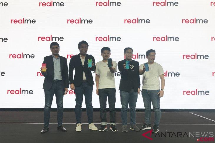 Bawa tiga produk, ponsel Realme resmi masuk pasar Indonesia