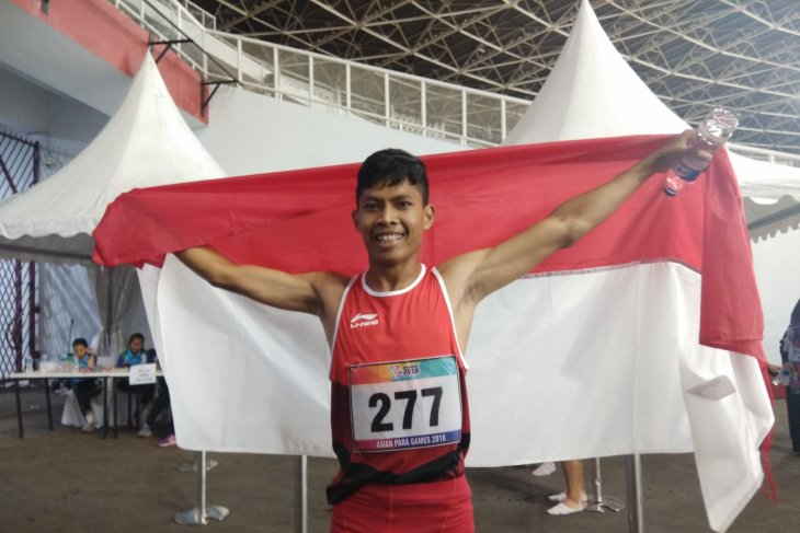 Sapto contributes gold medal for Indonesia