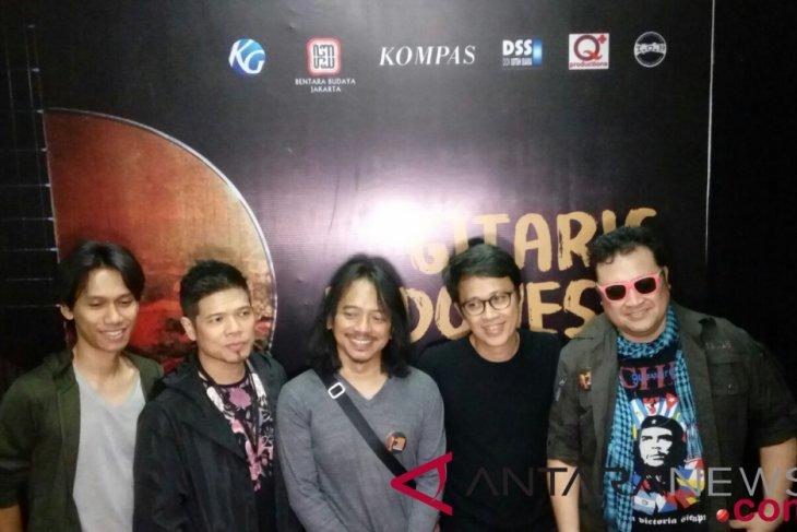 Gitaris Indonesia galang dana untuk korban bencana Sulawesi Tengah