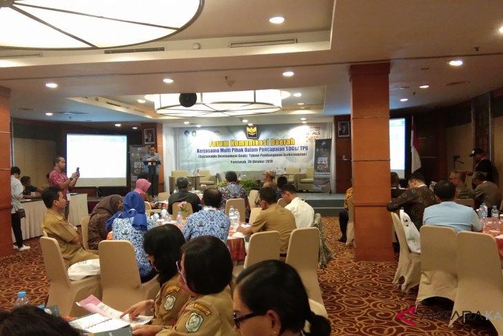 Dialog percepatan Tujuan Pembangunan Berkelanjutan di Pontianak
