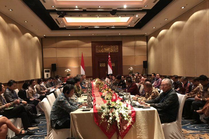 Presiden ingin investasi Singapura di Kendal direplikasi di provinsi lain