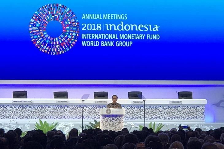 Presiden Jokowi ajak dunia hentikan masa kelam perekonomian global
