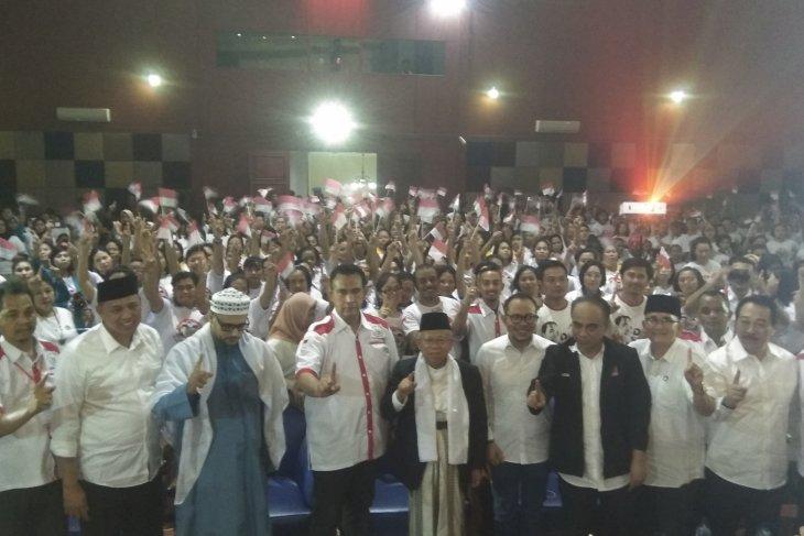 Ma'ruf Amin hadiri deklarasi relawan pekerja migran