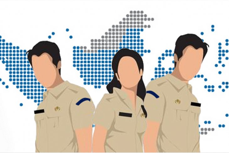 Seleksi CPNS, warga Bengkulu ramai-ramai legalisir E-KTP dan KK