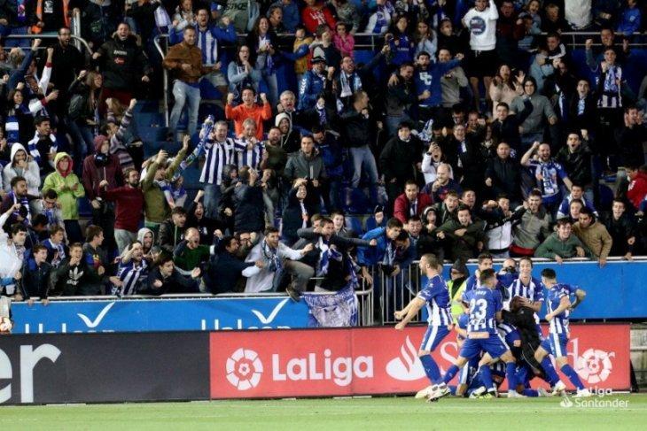 Usai kalahkan Levante 2-0, Alaves dekati posisi lima besar