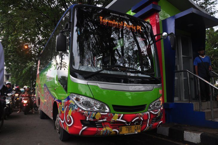 Jumlah Penumpang BRT Trans Tangerang Terus Meningkat
