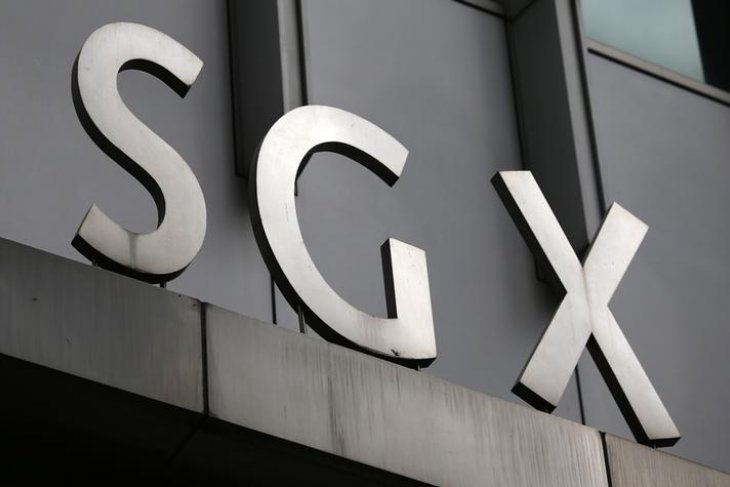 Bursa saham Singapura berakhir jatuh 2,69 persen