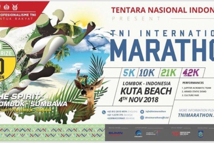 TNI ajak warga sukseskan internasional marathon di Mandalika