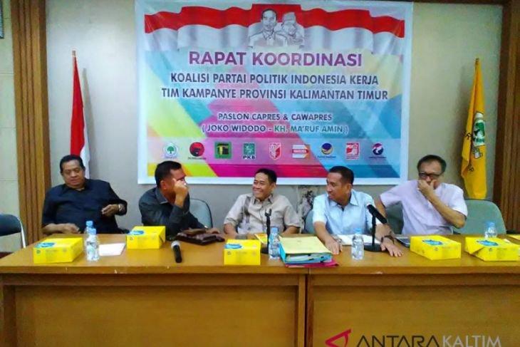 Tim Jokowi/Ma`ruf Kaltim targetkan 70 persen suara
