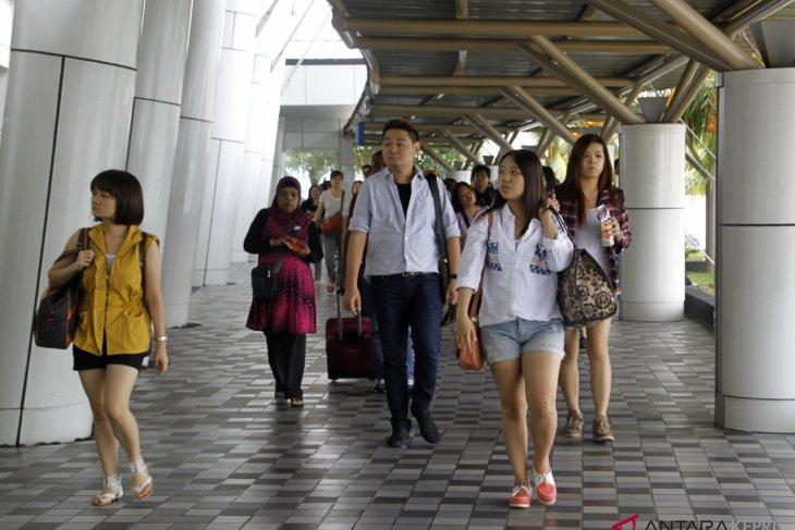 Pusat perbelanjaan di Batam dipadati wisatawan