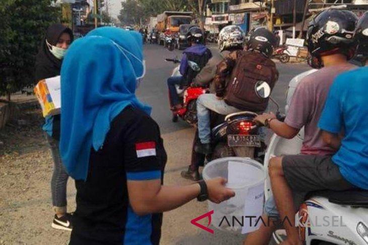 Relawan HST galang dana untuk korban gempa dan tsunami