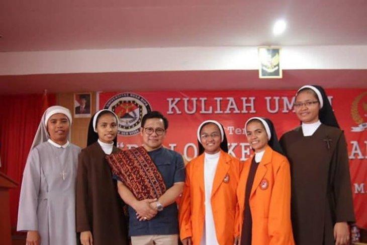 Muhaimin ingatkan mahasiswa jaga persahabatan meski berbeda pilihan politik
