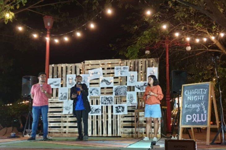 Musisi Ambon galang donasi Katong voor Palu