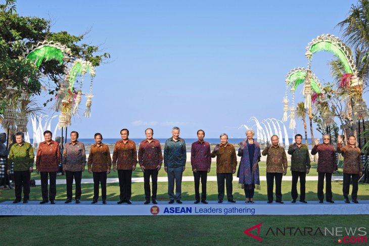 Simpati para pemimpin ASEAN mengalir ke Indonesia
