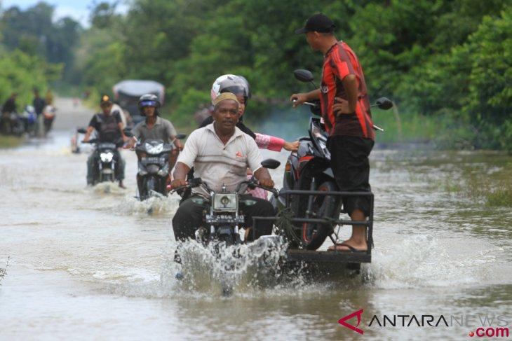 Banjir di Langkat meluas