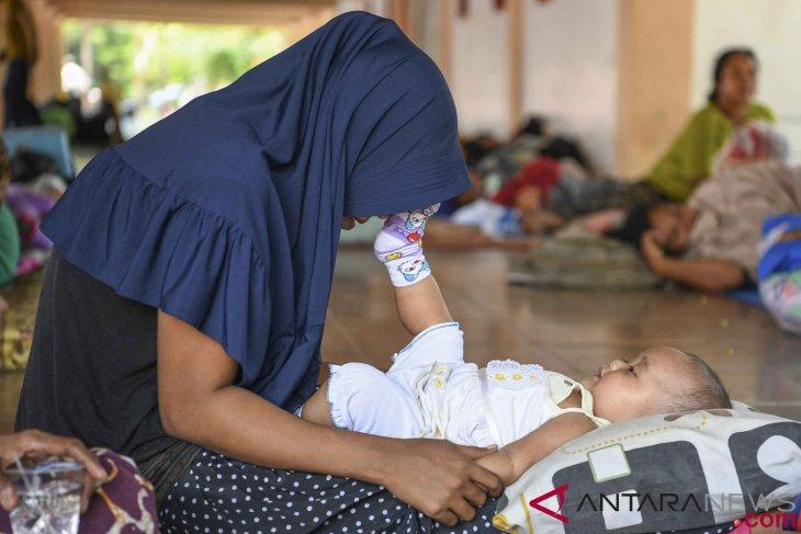 BNPB: jumlah pengungsi mulai menyusut