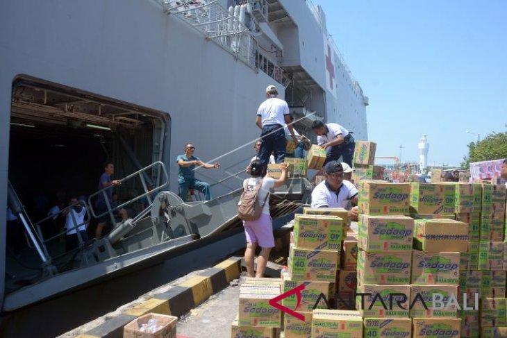 KRI Soeharso kirim bantuan masyarakat Bali ke Palu