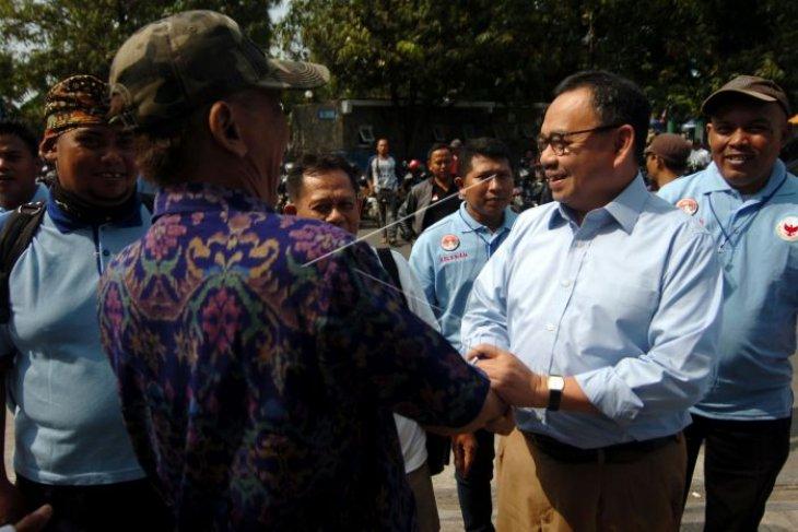 Deklarasi relawan Prabowo-Sandi