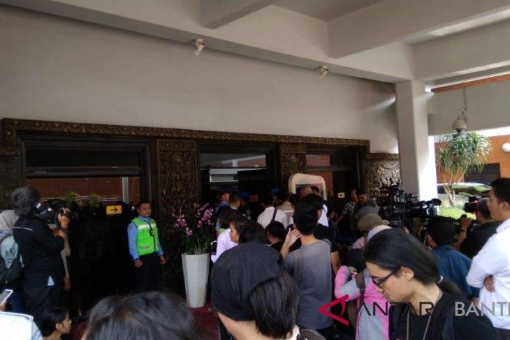 Menteri Keuangan Tiba Di Bandara Soetta Ikuti Perkembangan Pesawat Jatuh