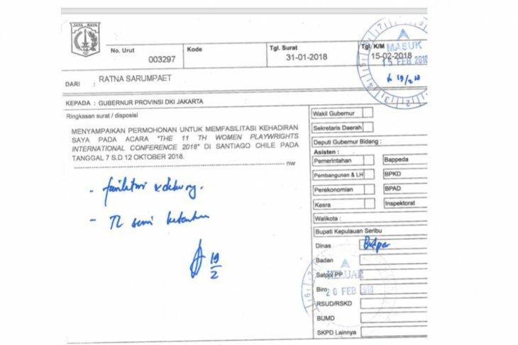 Dki Jelaskan Permintaan Ratna Sarumpaet Untuk Disponsori Ke