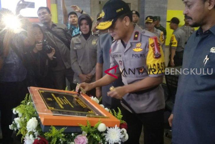 Kepolisian Bengkulu operasikan command center