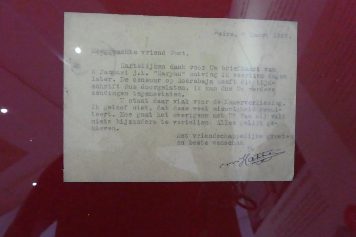 Indonesia`s first VP wrote 800 papers